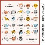 Cute Animals Alphabet For...