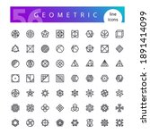 set of 56 geometric abstract...   Shutterstock .eps vector #1891414099