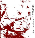 vector illustration of blood... | Shutterstock .eps vector #18914536