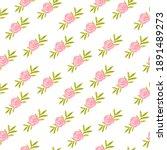 watercolor seamless pattern... | Shutterstock . vector #1891489273
