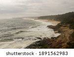 Dramatic Stormy Sea  And The...