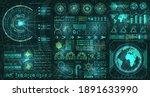 hud  ui  gui futuristic user...   Shutterstock .eps vector #1891633990