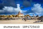 Lighthouse Bandon Beach Oregon...