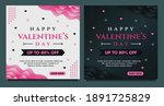 happy valentine's day sale... | Shutterstock .eps vector #1891725829