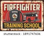 Firefighters Training School...