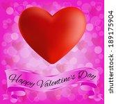 card valentine day | Shutterstock .eps vector #189175904