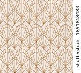 art deco seamless pattern in a... | Shutterstock .eps vector #1891858483