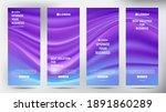 mesh color flow roll up... | Shutterstock .eps vector #1891860289