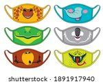 Set Of Designs Reusable Mouth...