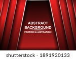 abstract red and black are... | Shutterstock .eps vector #1891920133