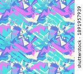 urban seamless hand drawn... | Shutterstock .eps vector #1891957939