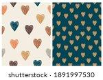 lovely seamless vector patterns ... | Shutterstock .eps vector #1891997530
