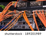 fiber optical connections with... | Shutterstock . vector #189201989
