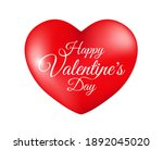 high quality 3d heart for your... | Shutterstock .eps vector #1892045020