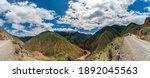 Panorama Of Tibetan Mountain...