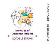 no customer insights vision... | Shutterstock .eps vector #1892046433