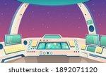 artoon background rocket... | Shutterstock .eps vector #1892071120