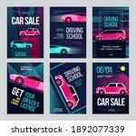 driving school invitation...   Shutterstock .eps vector #1892077339