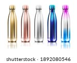vector realistic 3d white ... | Shutterstock .eps vector #1892080546