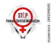 zero tolerance for female...   Shutterstock .eps vector #1892098000