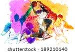 illustration of sports...   Shutterstock . vector #189210140