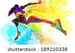 illustration of sports  running   Shutterstock . vector #189210338