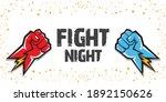 fight night vector modern... | Shutterstock .eps vector #1892150626