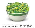 Indian Spicy Green Chilli...