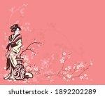 spring season vector background ...   Shutterstock .eps vector #1892202289