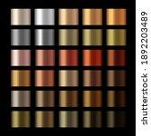 vector metallic copper... | Shutterstock .eps vector #1892203489