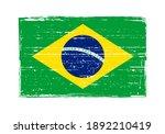 vintage scratched flag of... | Shutterstock .eps vector #1892210419