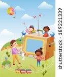 illustration of education | Shutterstock . vector #189221339