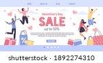 vector cartoon flat characters...   Shutterstock .eps vector #1892274310