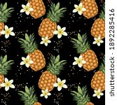 seamless pattern with... | Shutterstock .eps vector #1892285416