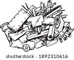 Scrap Metal Illustration...