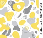 seamless pattern with abstract... | Shutterstock .eps vector #1892335603