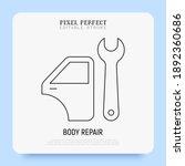 car service  auto body repair...   Shutterstock .eps vector #1892360686