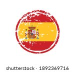 grunge rubber stamp with spain... | Shutterstock .eps vector #1892369716