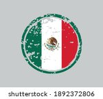 grunge rubber stamp with mexico ... | Shutterstock .eps vector #1892372806