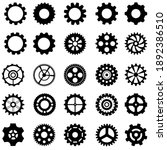gear icon vector set.... | Shutterstock .eps vector #1892386510