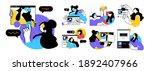 business concept illustrations. ... | Shutterstock .eps vector #1892407966