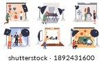 photographic studio.... | Shutterstock .eps vector #1892431600