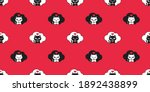 cat seamless pattern kitten... | Shutterstock .eps vector #1892438899