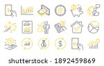 set of finance icons  such as... | Shutterstock .eps vector #1892459869