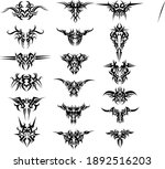 set ornaments tribal perfect... | Shutterstock .eps vector #1892516203
