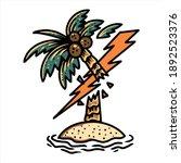 bad summer illustration vector...   Shutterstock .eps vector #1892523376
