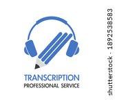 transcription   professional... | Shutterstock .eps vector #1892538583