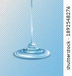 squeezed transparent gel drips...   Shutterstock .eps vector #1892548276