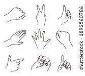 illustration set of various...   Shutterstock .eps vector #1892560786