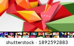 trendy abstract backgrounds... | Shutterstock .eps vector #1892592883